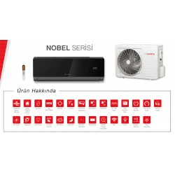 NOBEL 9 000 BTU/H İNVERTER SPLIT KLIMA