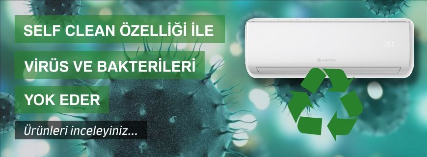 Self Clean Sistem Split Klimalar